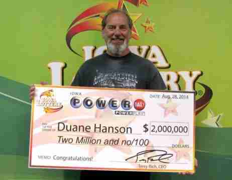 Duane Hanson LOTTERY