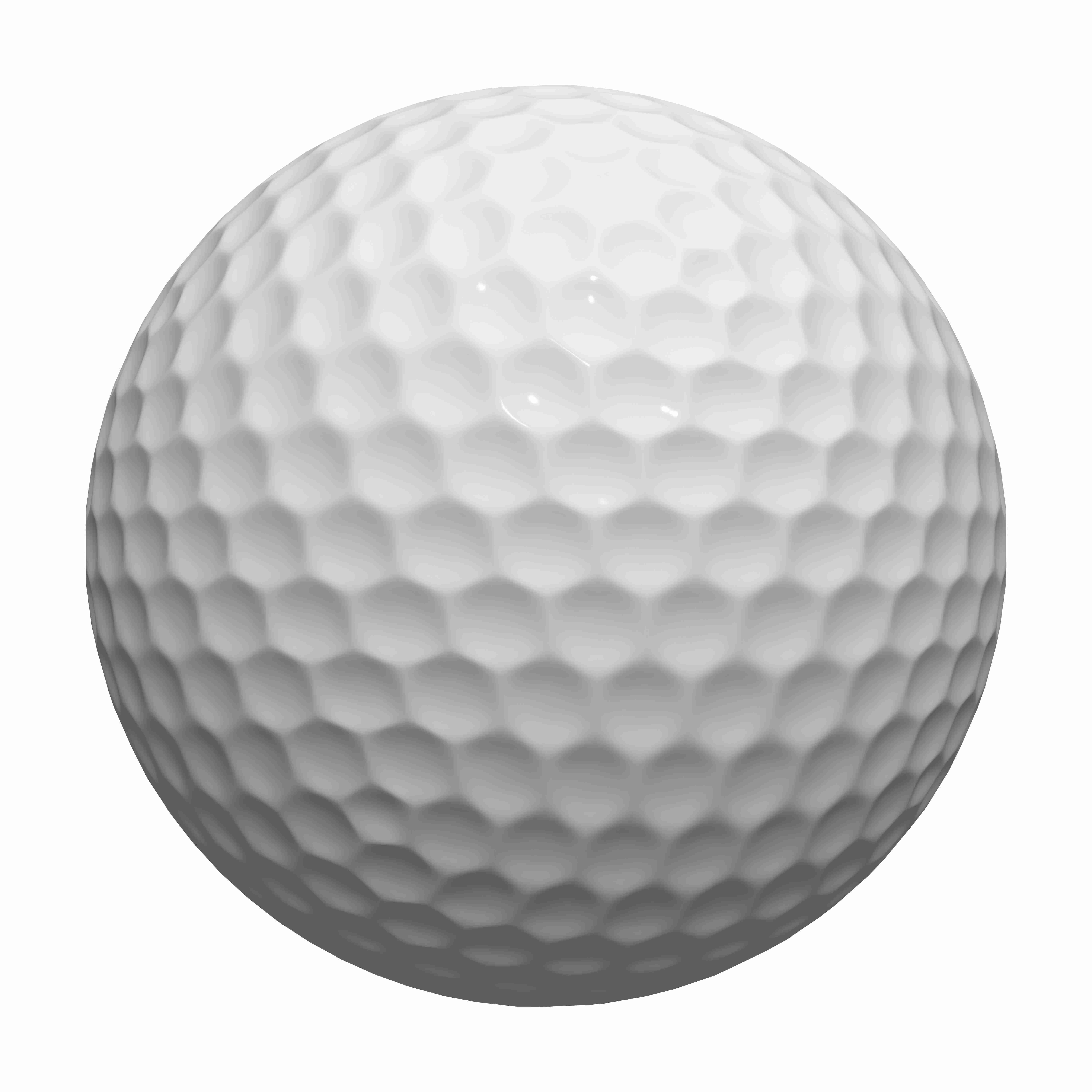 3d rendered illustration of a golf ball