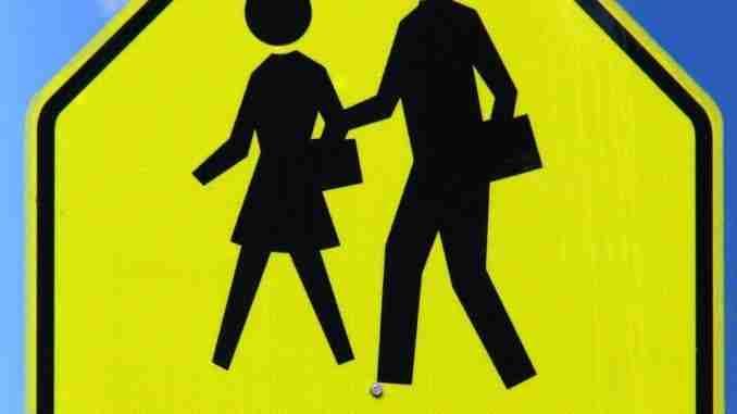 Slow School Zone Sign