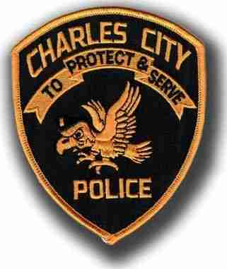 Charles City Police Badge