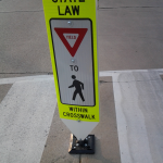road sign main