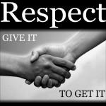 respect handshake