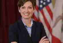 Photo of Gov. Kim Reynolds will be in Charles City Tuesday
