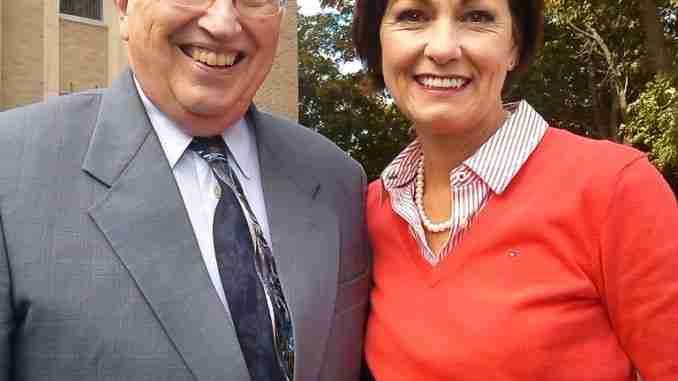 Lt Gov Kim Reynolds Mayor Jim Erb