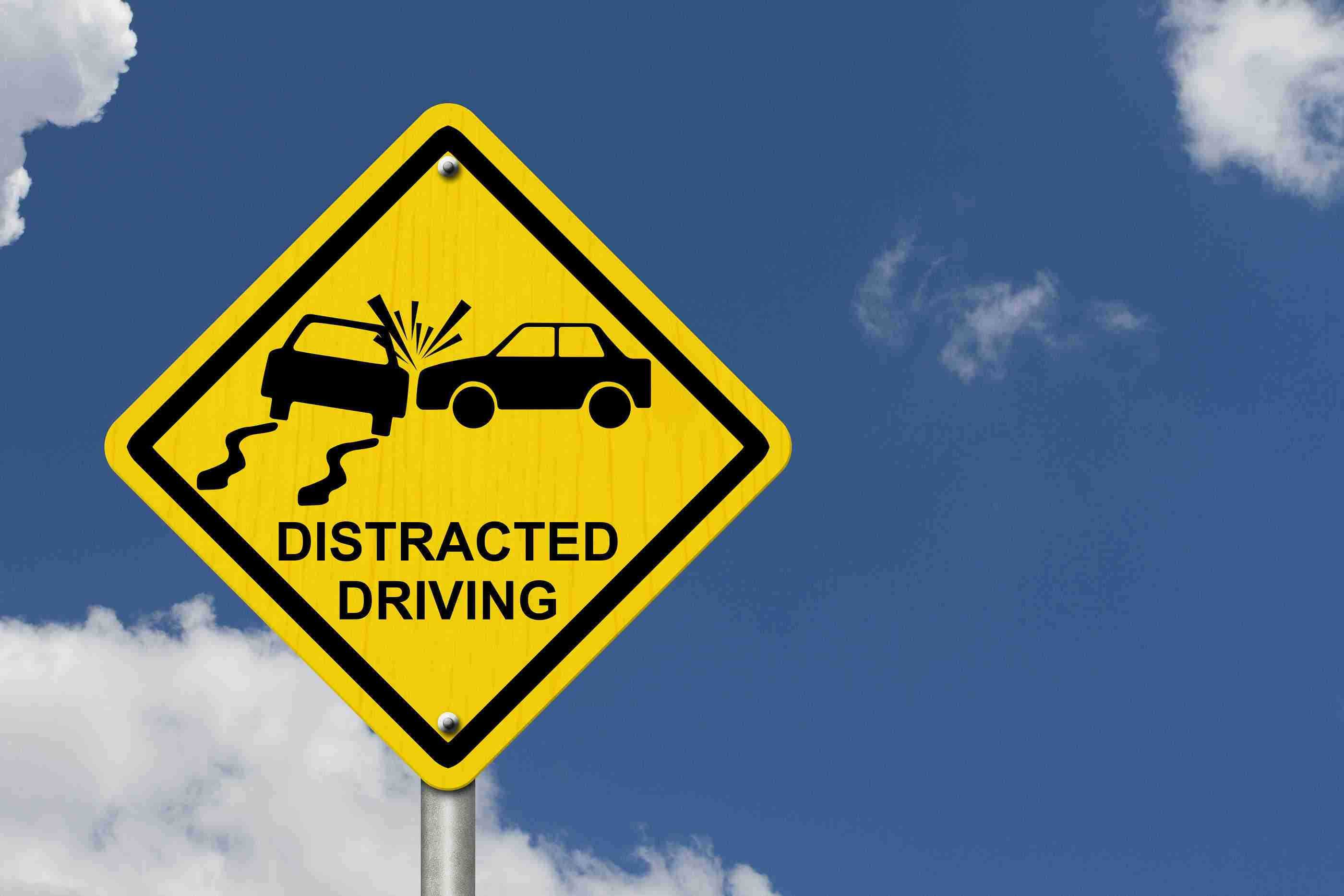 Image result for distracted driving sign