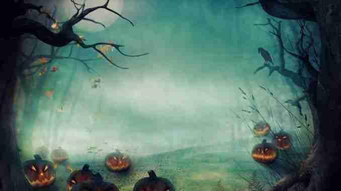 Halloween Design – Forest Pumpkins