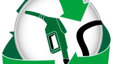 Green Gasoline Icon