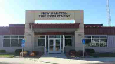 Photo of New Hampton Fire Department touts new fire chief