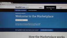 NEW YORK CITY - FEBRUARY 2, 2014:  The healthcare.gov website in