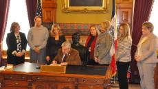 Radon Proclamation signing 1.8.15
