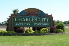 Charles City Sign