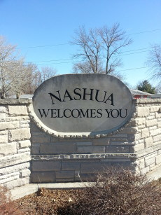 Nashua Welcome Sign