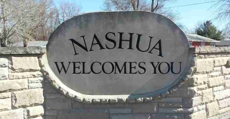Nashua Welcome Sign