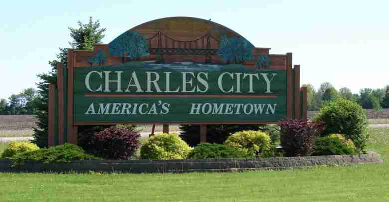 CharlesCity sign