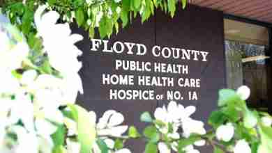 Photo of Floyd County Public Health talks about first positive case of COVID-19 in Floyd County