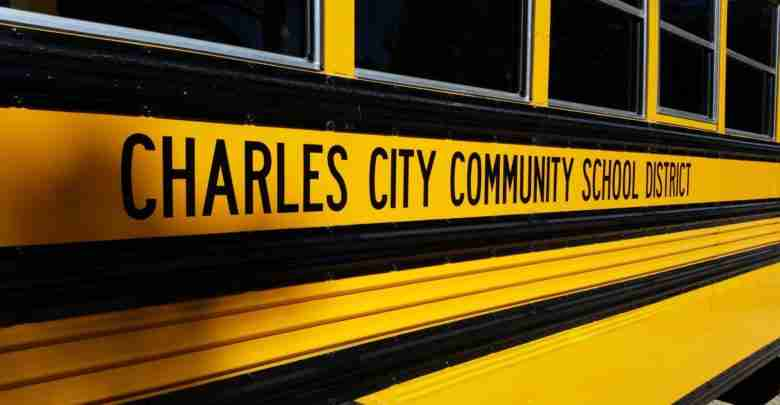 Charles City School Bus