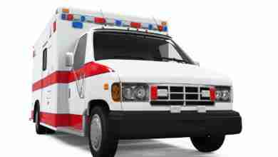 Photo of Chickasaw County ambulance discussion re-lights