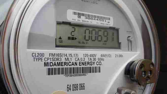 MidAmerican Energy Power Meter