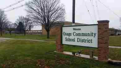Photo of Osage superintendent on the start of baseball/softball: 'rumor has it' 'ESPN trucks running around Iowa'