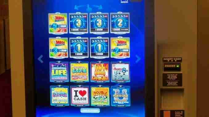 Lottery-touch-screen