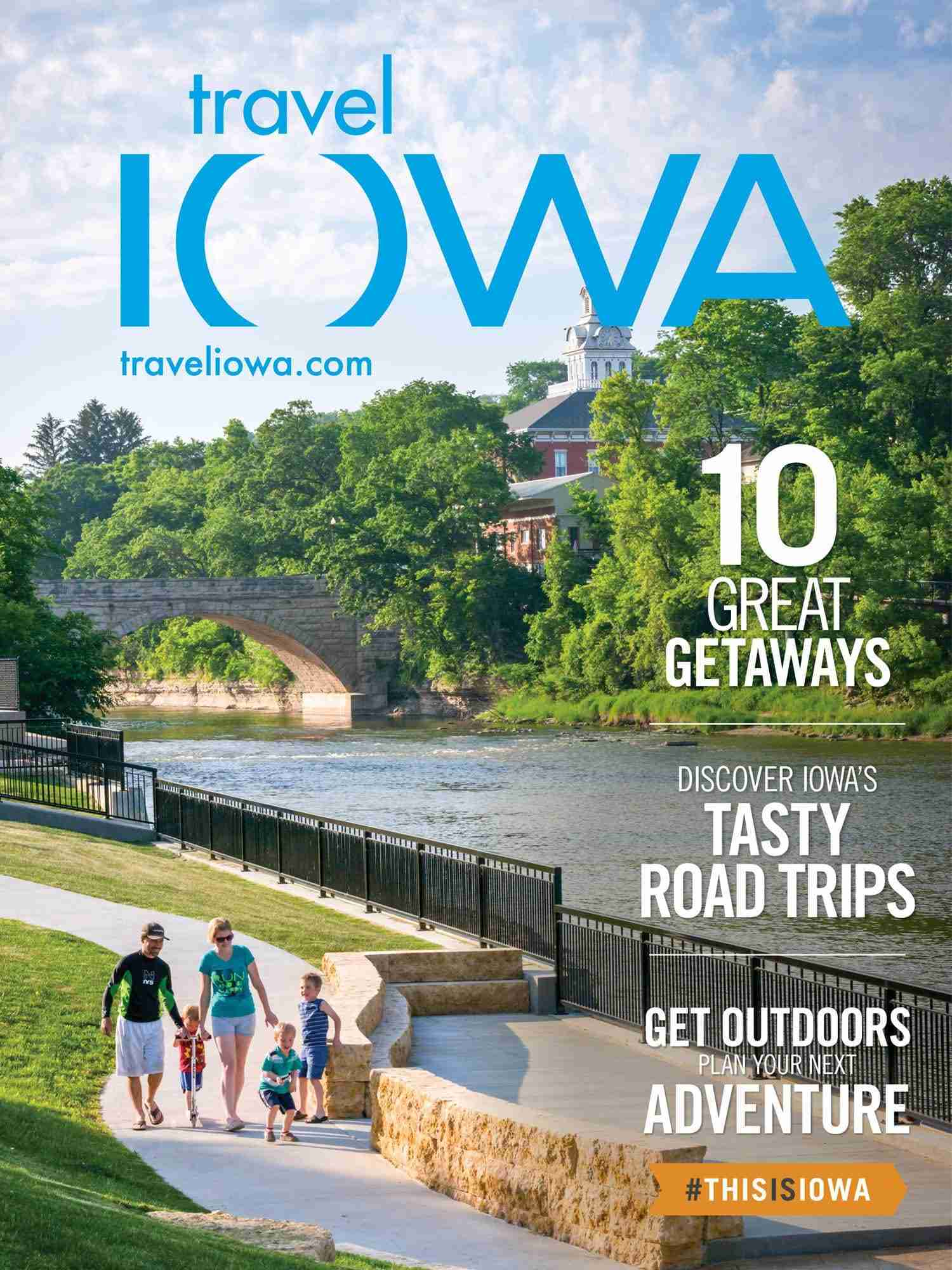 Iowans to choose cover of next iowa travel guide kcha news for Iowa fishing license 2017