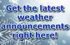 Weather Announcements