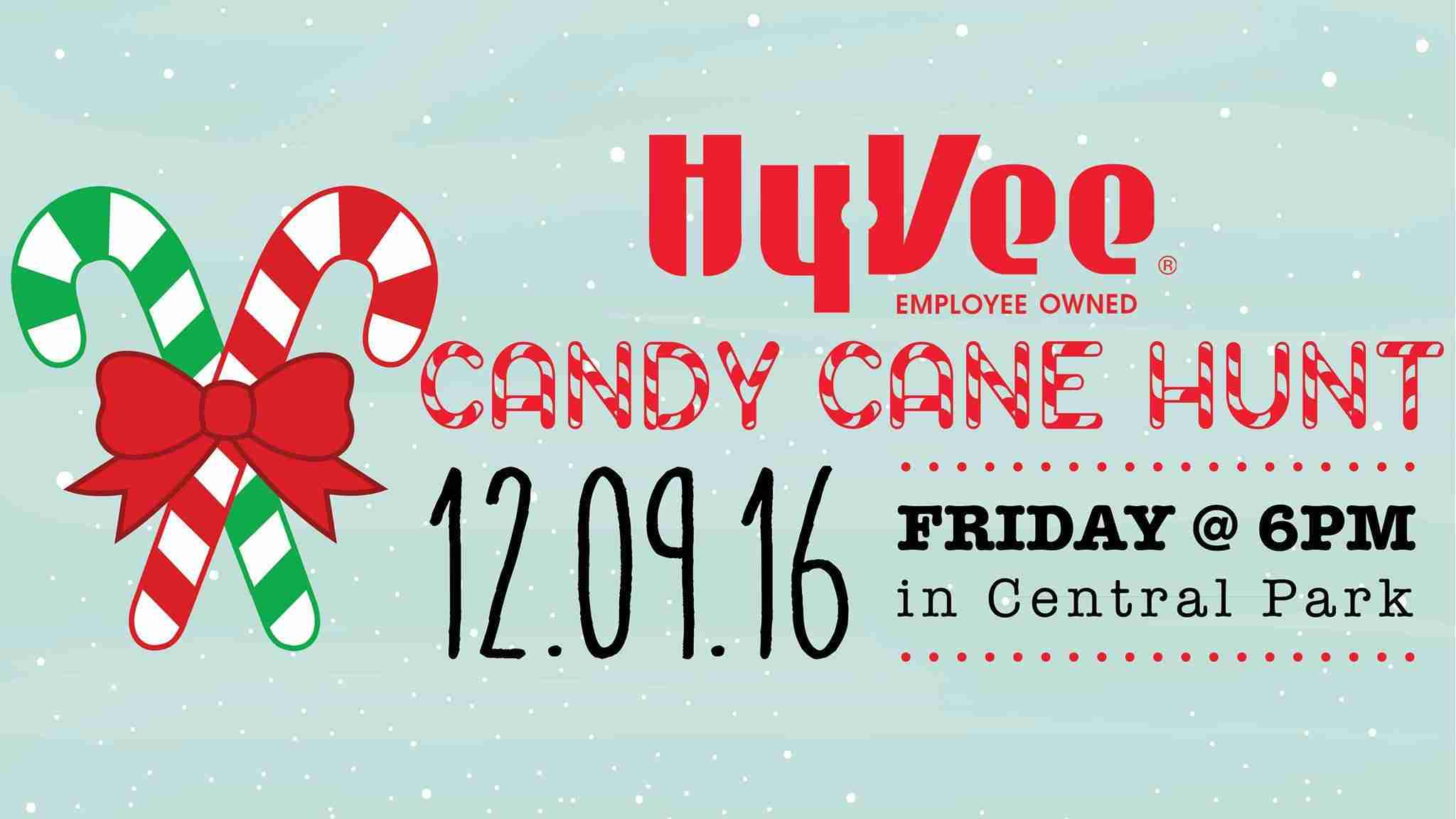 candy cane hunt coming to charles city - Hyvee Christmas Eve Hours