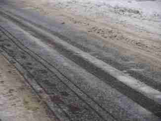 Snow Roads, Snow On Asphalt, Rural Roads