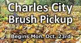 Brush Pickup begins week of Oct 23rd