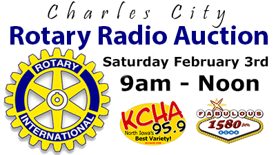 Charles City Rotary Radio Auction
