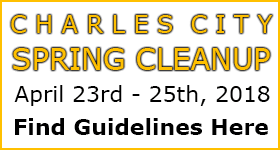 Charles City Spring Cleanup Dates Set