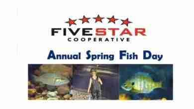 Photo of Annual Fish Days will be held on May 19th at Five Star Co-op