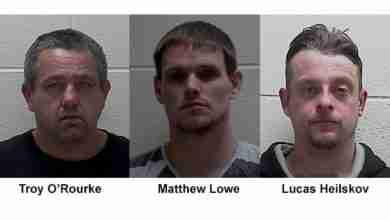 Photo of Mason City Police asking your help in locating three wanted men