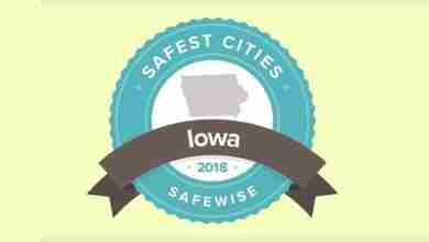 Photo of List of Iowa's 20 safest cities is released