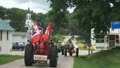 Photo of 11th Annual North Iowa Tractor Ride Burns Rubber On Northeast Iowa Roads