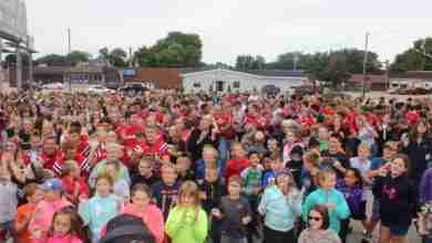 Photo of WATCH: New Hampton Holds Largest Chicken Dance