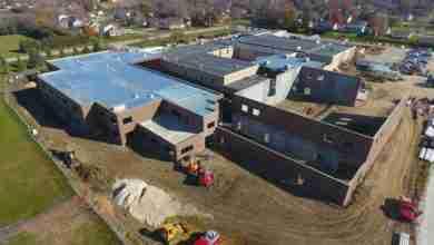 Photo of New Hampton Construction Making Significant Progress Despite Tough Weather