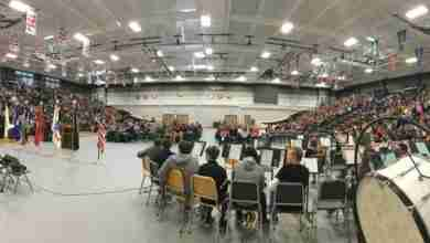 Photo of Charles City's annual Veteran's Day Service