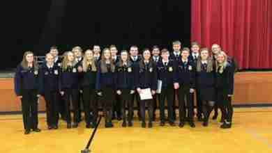 Photo of FFA sends eight of nine teams on to district competition