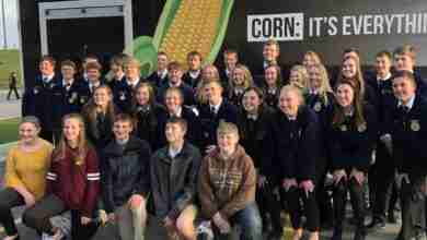 Photo of Charles City FFA members compete at state leadership conference