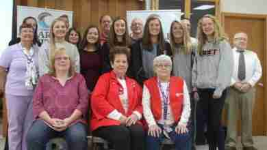 Photo of Jacobs, Heyer highlight volunteer awards at recognition breakfast