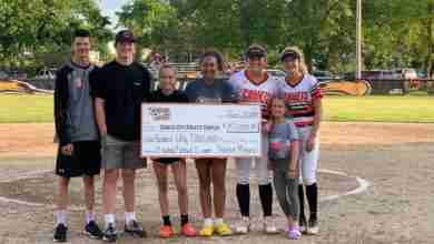 Photo of CCSD awarded Prairie Meadows grant for softball, baseball complex