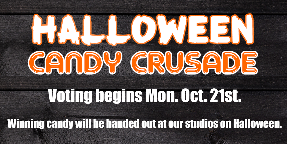 Halloween Candy Crusade - Voting begins Mon Oct 21
