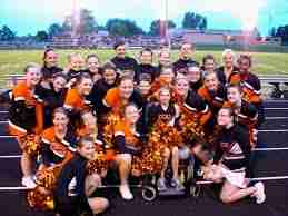 Photo of Charles City Comet cheerleading big events incoming!