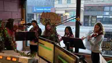 "Photo of C.C. School's ""Wire Choir"" Performs Holiday Hits Live on the Morning Show"