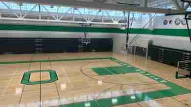 Photo of Osage gym ready for action – superintendent invites alumni to come see on December 17