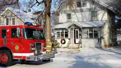 Photo of House left as 'total loss' during chilled Charles City house fire