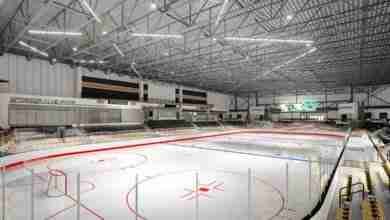Photo of Mason City's new Multipurpose Arena ready for public skating
