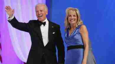 Photo of Jill Biden coming to Charles City to campaign for husband