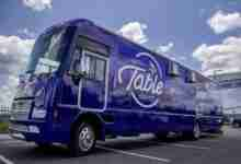 Photo of 'Viking Table' bus to feed Charles City youth on August 19th